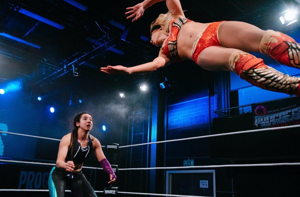 Kanji defeats Gisele Shaw to become Progress Women's Champion