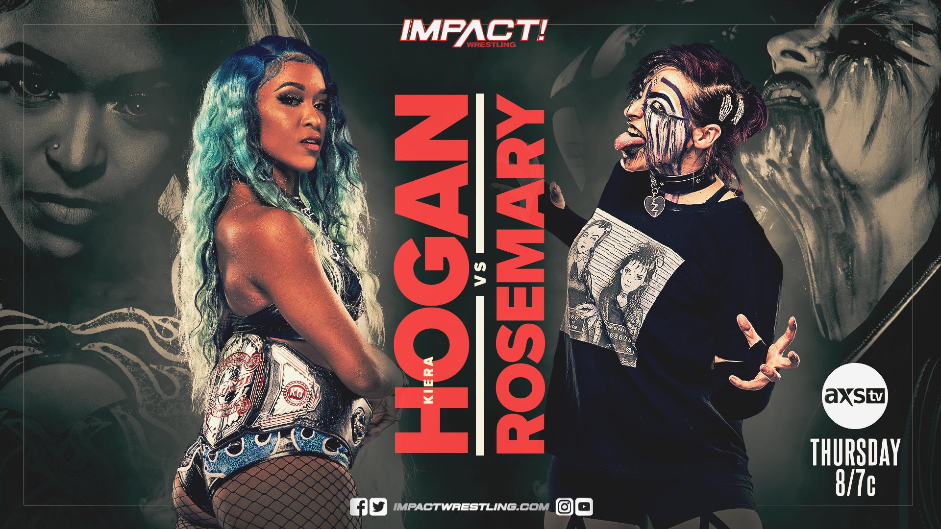 Rosemary vs Kiera Hogan