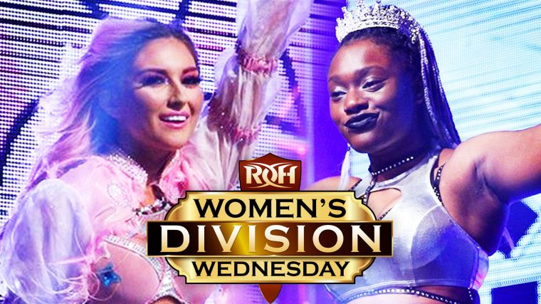"""""""The Pink Dream"""" Alex Gracia has received her spot in the ROH Women's Title Tournament"""