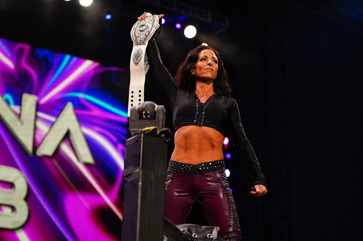 Serena Deeb confirms she is still dealing with a knee injury