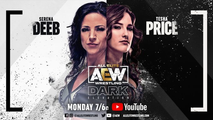 Hikaru Shida, Thunder Rosa and Serena Deeb in action on AEW Dark: Elevation