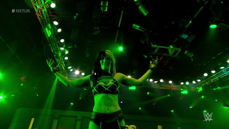 Blair Davenport debuts on NXT UK