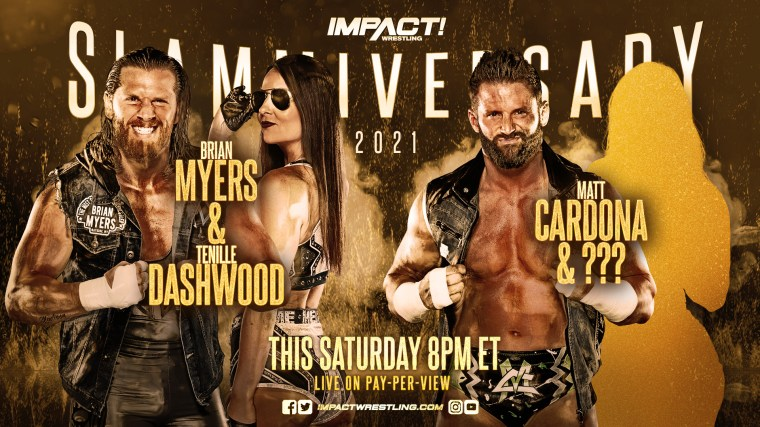Tenille Dashwood announced in a Mixed Tag Team Match for Slammiversary