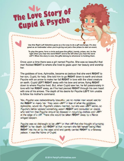Valentine Party Games And Ideas