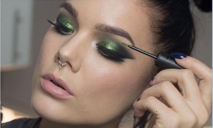 Imagini pentru machiaj cu mov si verde pentru ochii verzi