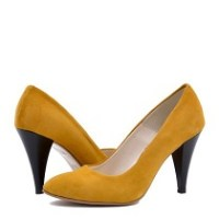 pantofi galbeni