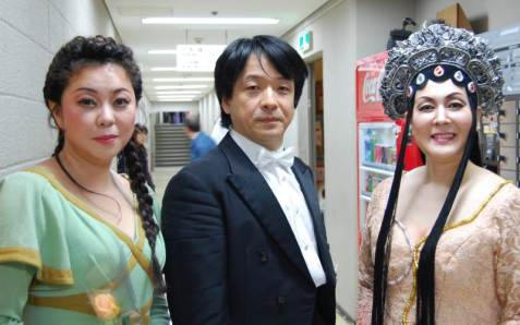 Turandot Backstage with Ryusuke Numajiri