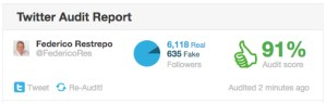 Análisis seguidores Twitter Federico Restrepo