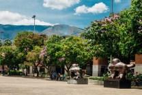 El Parque San Antonio será restaurado con jardineras y árboles. Foto: RCN Radio