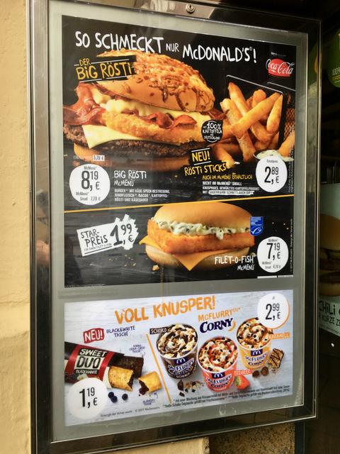 McDonald's zahlt seine Juni-Quartalsdividende