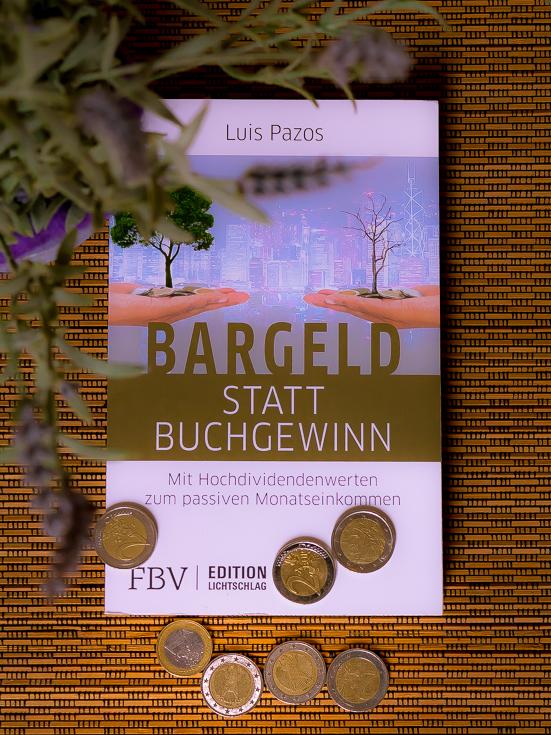"""Buch """"Bargeld statt Buchgewinn"""" von Luis Pazos"""