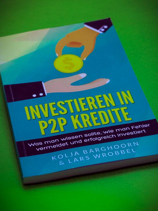 """Buch """"Investieren in P2P Kredite"""" Coverbild"""