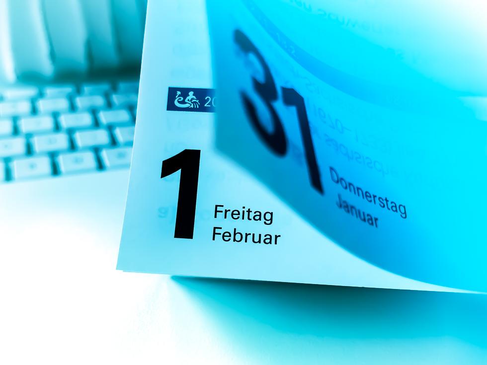 Monatswechsel Februar 2019