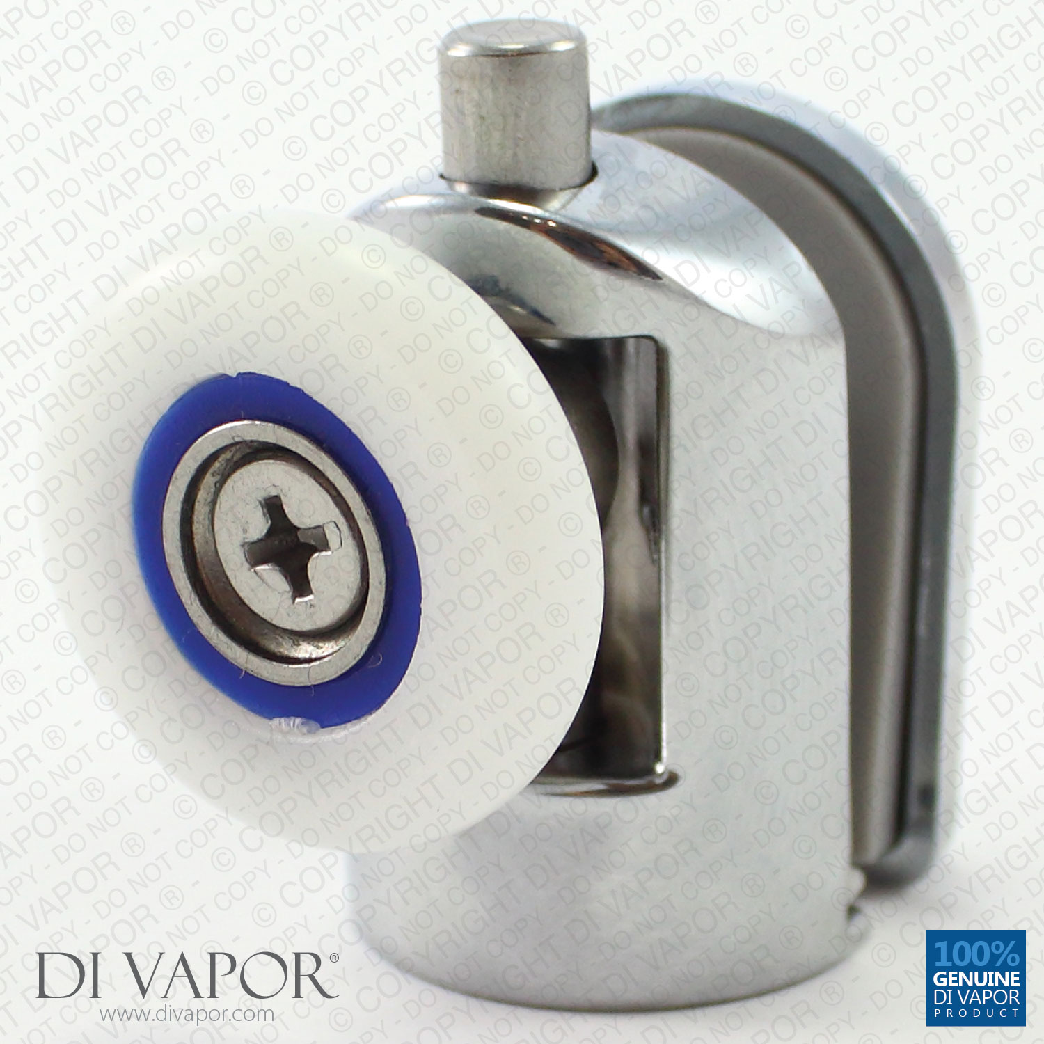 Details About Di Vapor R Bottom Glass Curved Shower Door Roller 6mm To 8mm Glass Metal