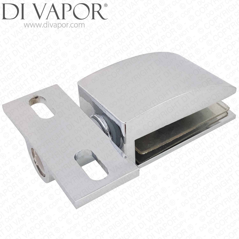 Details About Di Vapor R Shower Door Glass Pivot Hinge 25mm Hole To Hole Replacement Parts