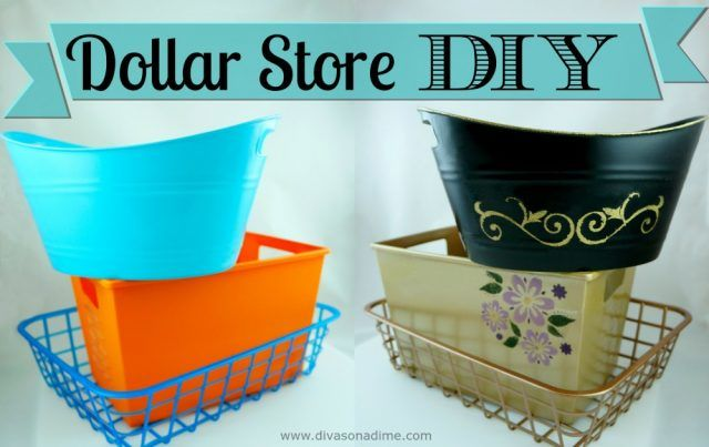 Make any plastic container so pretty you can display it in any room of the house.
