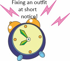 Fix your outfit at short notice!