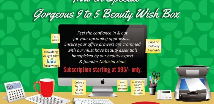 """Press Release: TNC Founder unveils beauty essentials at work in the """"Gorgeous 9-to-5 Beauty Wish Box""""!"""