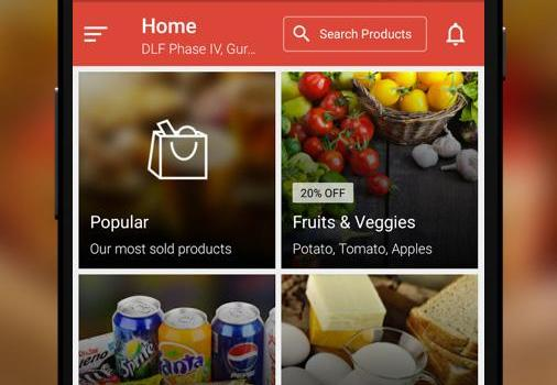 Peppertap: Shopping for everyday staples is just an app away!