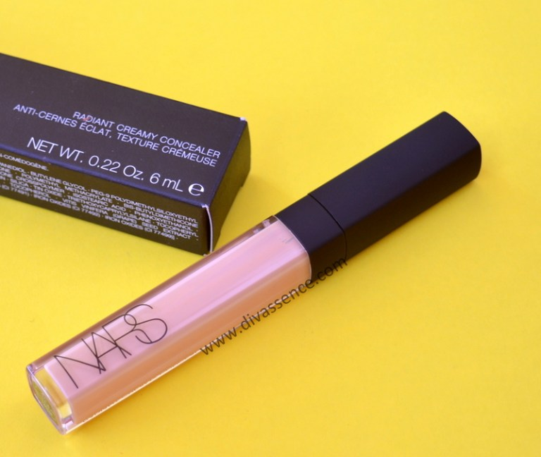 NARS Radiant Creamy Concealer in Custard review, swatches where to buy in India