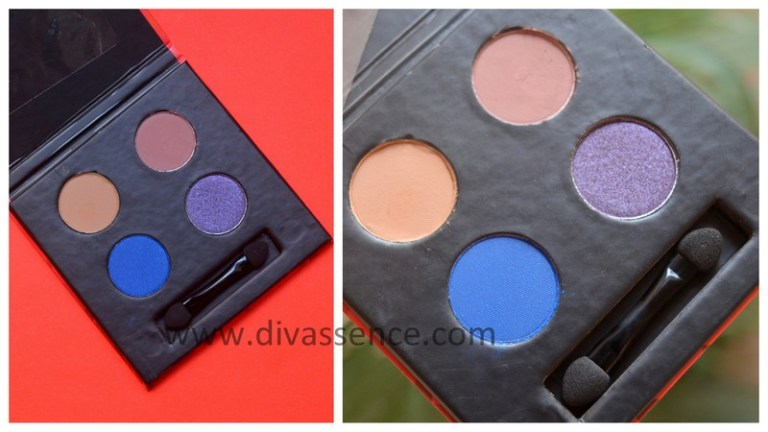 Fab Bag December 2017, Indian beauty subscription bags, best makeup shopping sites in India, Indian makeup blog, Indian beauty blog, sugar eyeshadow quad review