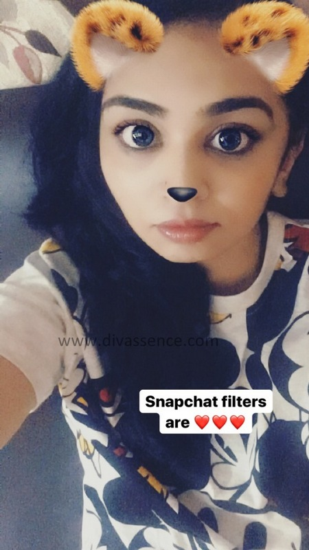 Chennai beauty blogger, Divassence, Chennai blogger, snapchat filters