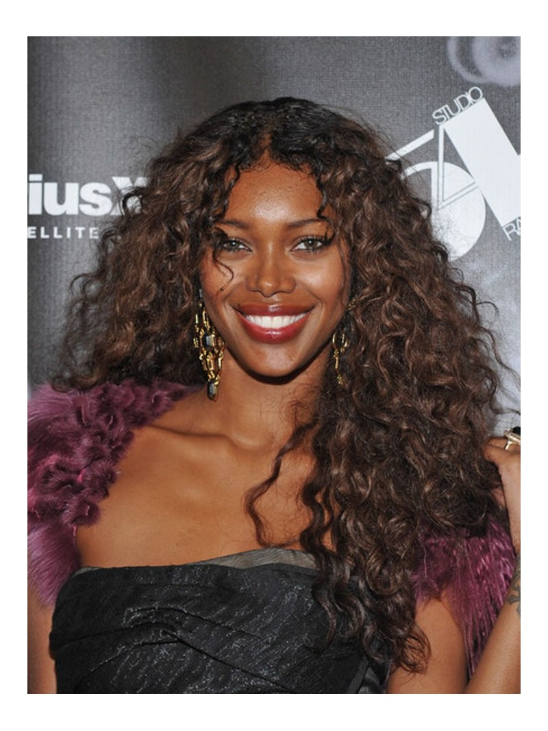 Custom Jessica Curly Human Hair Full Lace Wig Curly CST012
