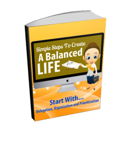 Simple steps to balancing it all