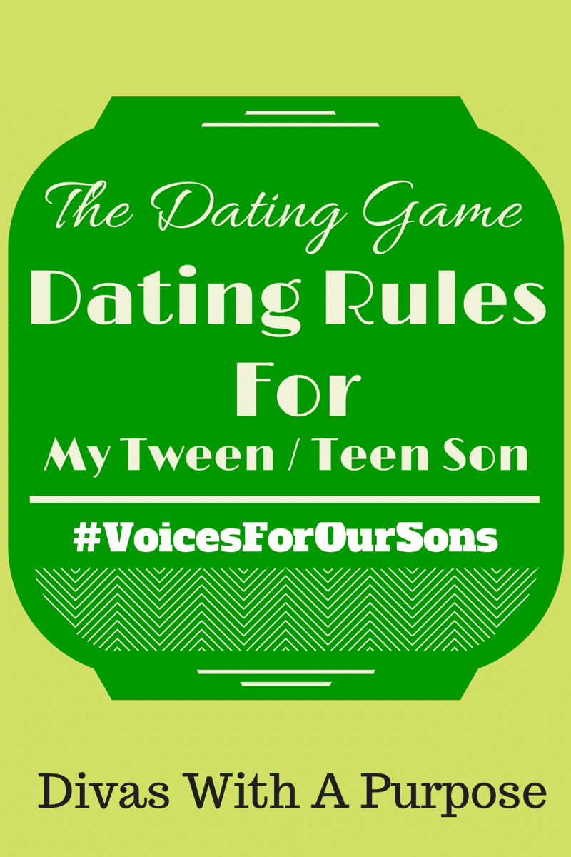 #VoicesForOurSons: Dating Rules For My Teen Son