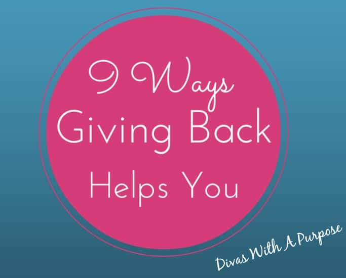 9 Ways Giving Back Helps You