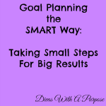 Goal Planning The SMART Way
