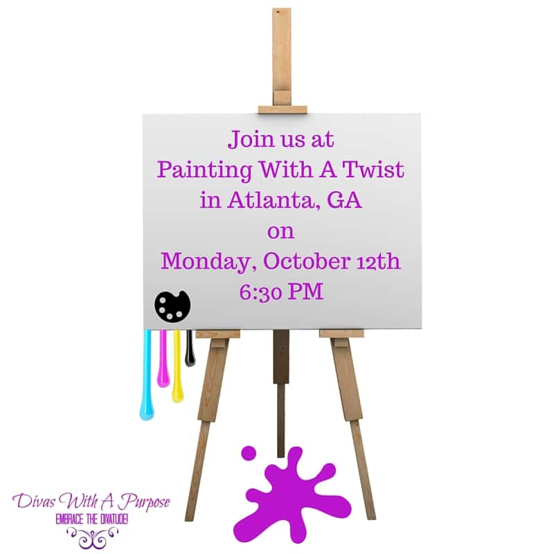 Painting With A Twist Atlanta Georgia Meet Up Divas With A Purpose