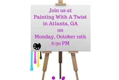 Join Us atPainting With A Twistin Atlanta, GAonMonday, October 12th6-30 PM