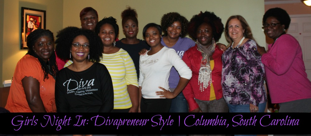 Girls Night In Divapreneur Style Group Picture