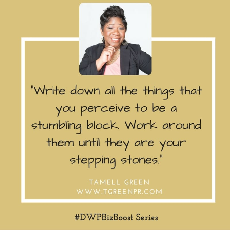 DWP Biz Boost Series Tamell Green