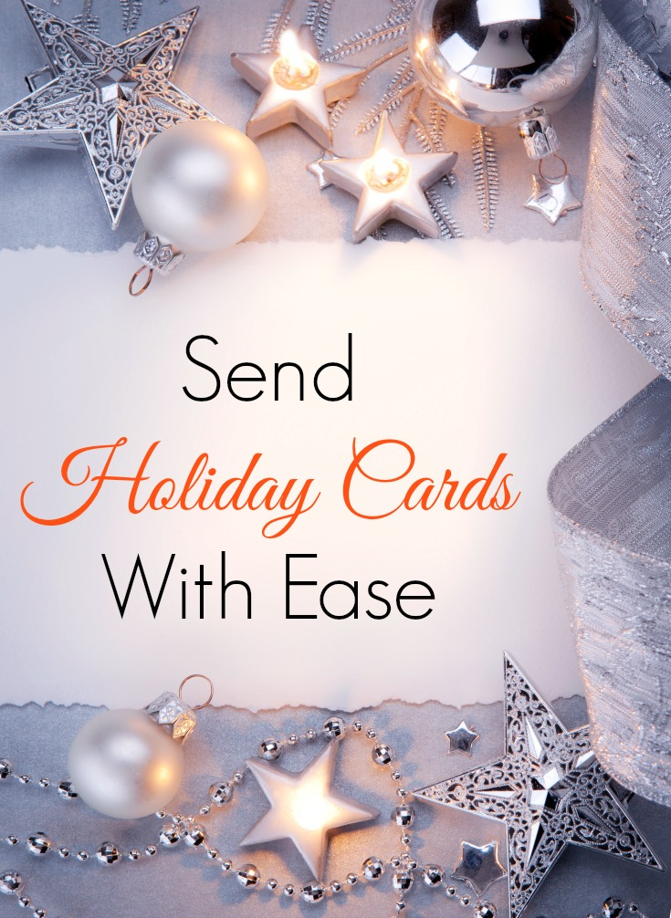 Send Holiday Cards With Ease
