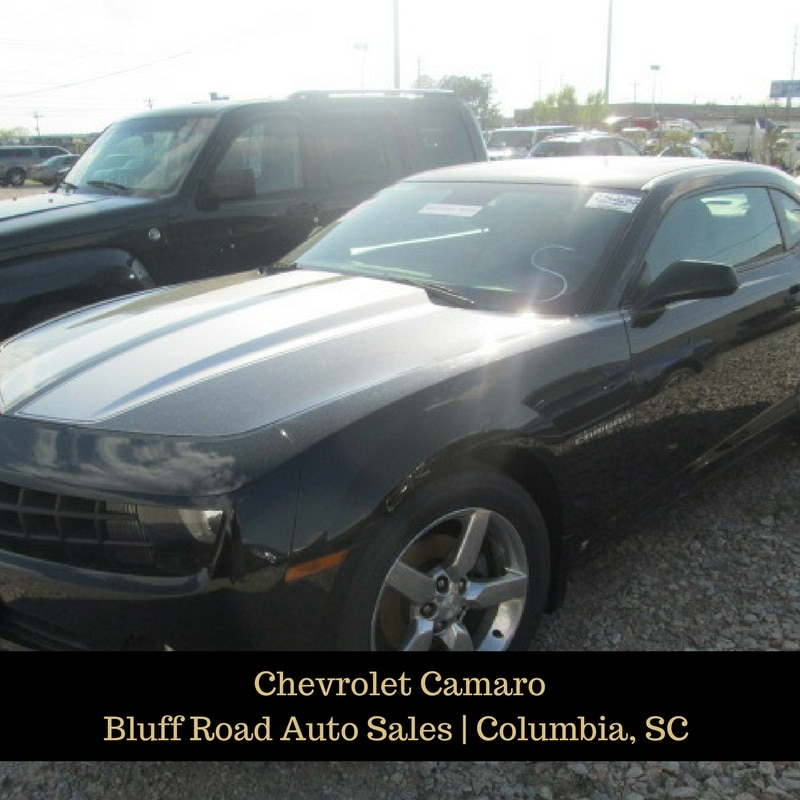 Chevrolet Camaro from Bluff Road Auto Sales