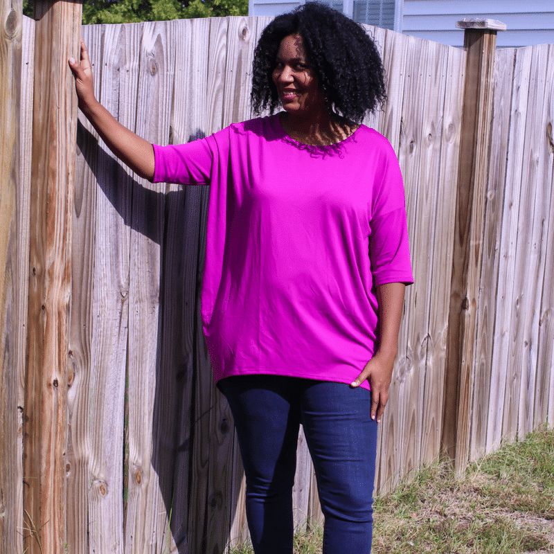 Work From Home Fashion wearing the LulaRoe Perfect T