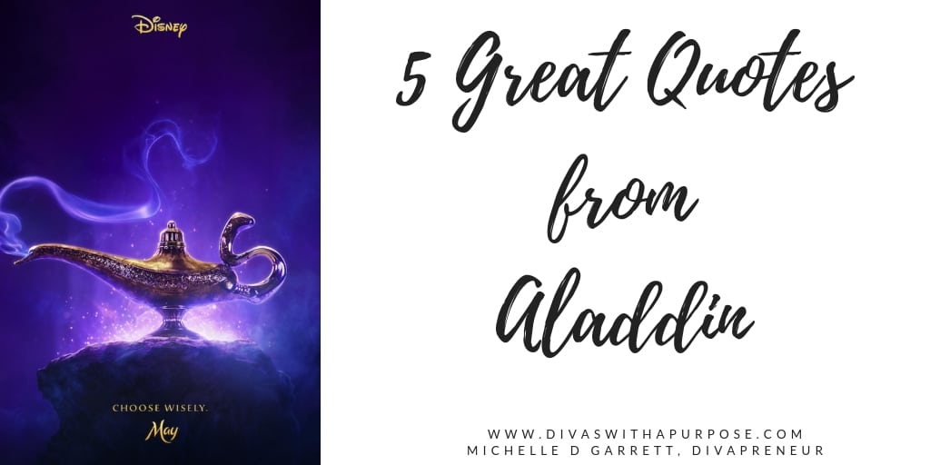 5 Great Quotes from Aladdin