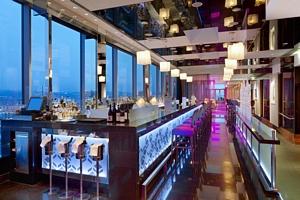 Cloud 9 Bar & Lounge bar area
