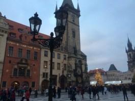 Prague Old Town Hall Clock