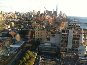 View from the Standard Highline Bar