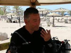 Open water scuba diver instructor