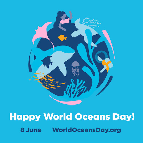 Human and avian representatives will continue to work weekends through columbus day. World Oceans Day 2019 Padi Aware
