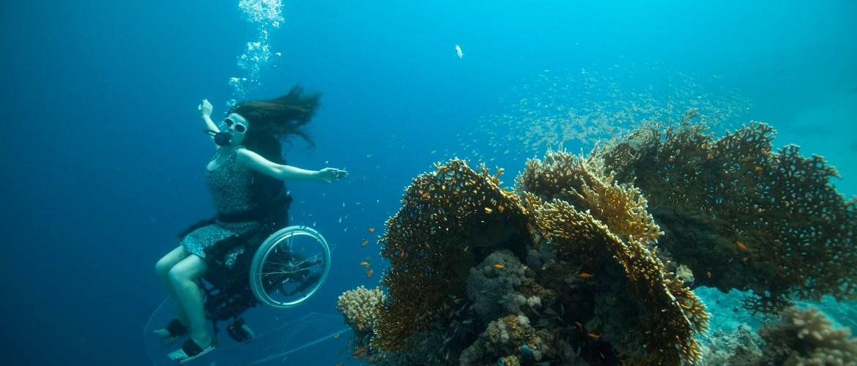 rolstoel duiken