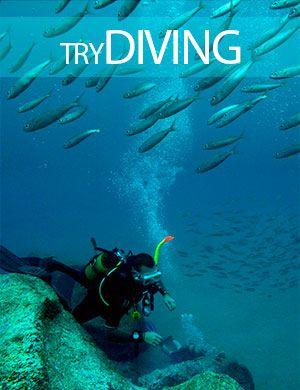 Try diving, Dive College Lanzarote, Playa Blanca
