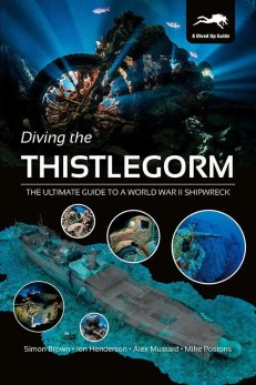 Hardback cover - Diving the Thistlegorm