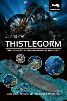 Diving the Thistlegorm - paperback cover