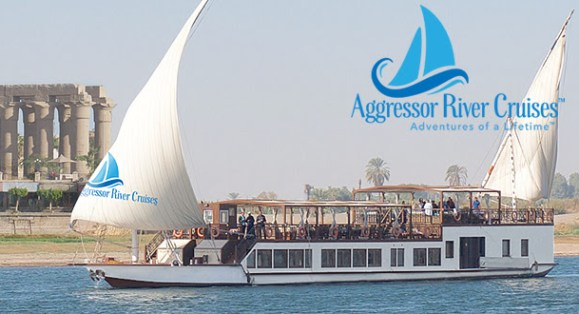 Aggressor Announces New Brand –  Aggressor River Cruises with the Nile Queen