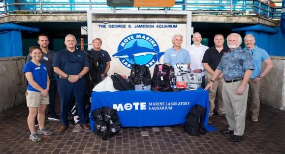 Scubapro Donates Equipment to Mote Marine Laboratory
